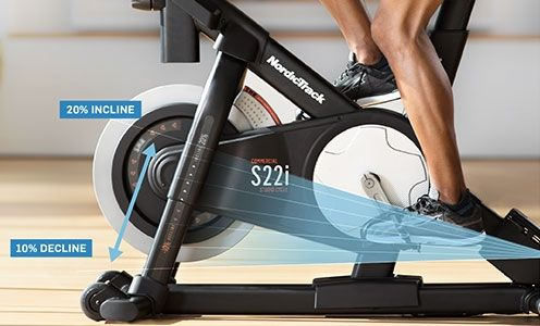 Nordic Track Commercial S22i Studio Cycle Foto 2