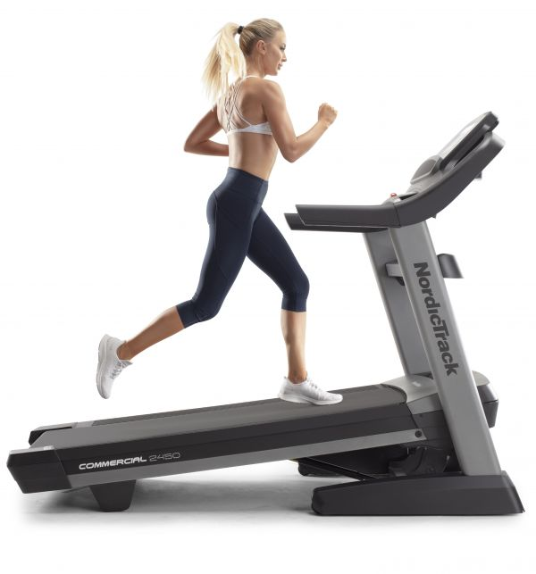 Banda de alergare Nordic Track USA Commercial NEW 2450 display 14 inch Foto 3