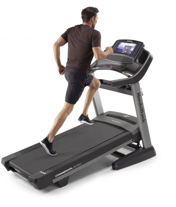 Banda de alergare Nordic Track USA Commercial NEW 2450 display 14 inch Foto 4