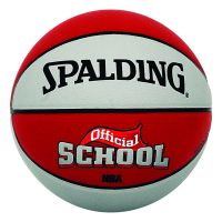 Minge Spalding NBA School In/Out silver/red 6